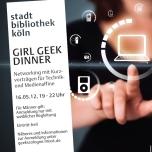 Poster Girl Geek Dinner