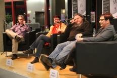 Von links nach rechts: Robert Schlappal, Elke Wetzig, Achim Raschka und Alice Wiegand.