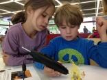 Der 3Doodler begeisterte vor allem Kinder.