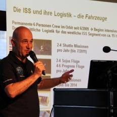 Volker Schmid über die Logistik der ISS