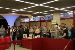 Die Crowd wächst! Foto: Stadtbibliothek Köln