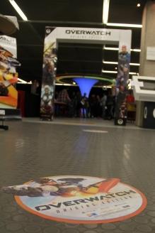 Deine Perspektive, nachdem Roadhog sich auf dich gesetzt hat. Foto: Stadtbibliothek Köln