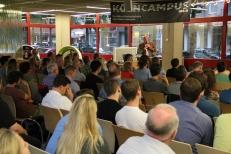 Michael Weber und sein Publikum