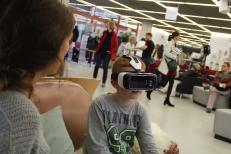 Die App gab es für die Oculus Rift und auch für die Samung Gear VR.