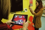 Augmented-Reality-Bücher und Face Raider auf dem Nintendo 3DS