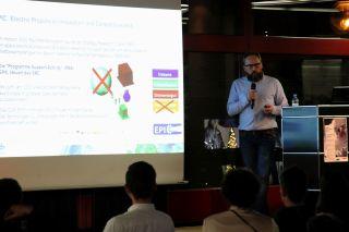 Vortrag über Antriebstechnologien in der Raumfahrt
