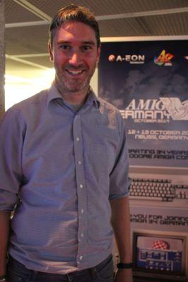 Gestatten: Markus Tillmann,Organisator der Amiga-Convention